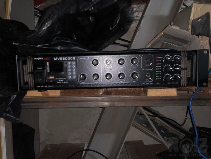 Master Audio 100 Volt PA System