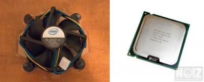 Intel Core 2 Duo Ε7400 με Ψυκτρα
