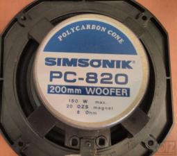 SIMSONIK PC-820 8