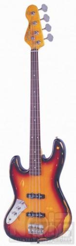 αριστερο vintage Icon v 74 jazz bass fretless