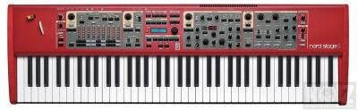 Nord Stage 2  76 Hammer action
