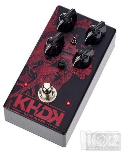 KHDK Dark Blood Distortion  και MXR Fullbore metal