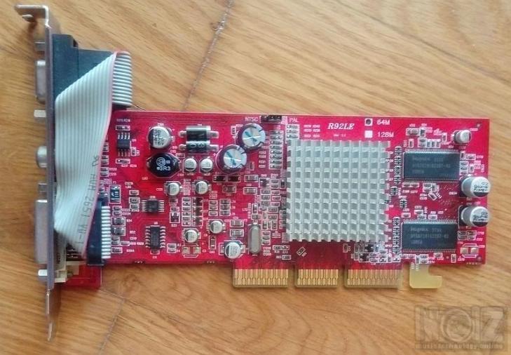ΚΑΡΤΑ ΓΡΑΦΙΚΩΝ ATI Radeon 9200 R92LE AGP