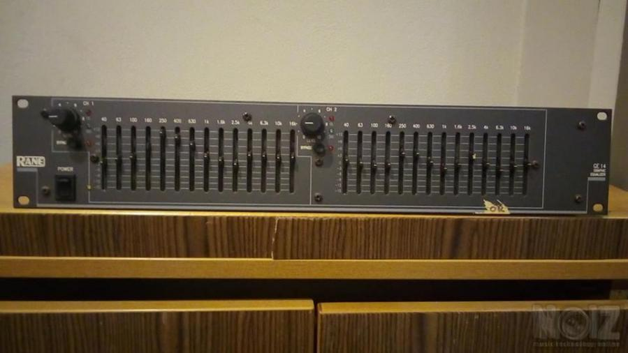 Rane GE 14 EQUALIZER   Made in USA