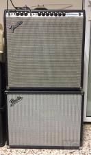 1972 Fender silverface Super Reverb with 115 ext cab by AxisProjectGuitars