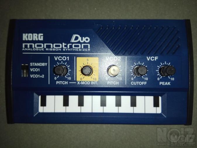 KORG MONOTRON duo (analogue ribbon synthesizer)