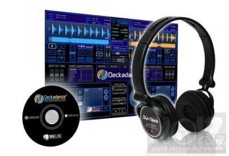 DJ-Tech DJH-555 DJ ακουστικά USB