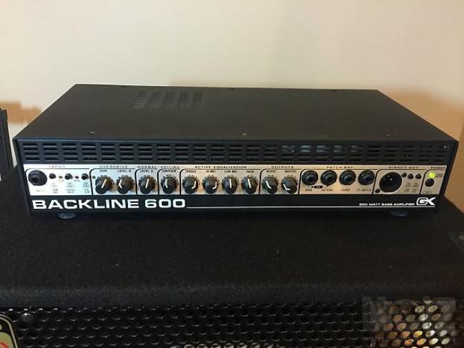 Gallien-Krueger Backline 600 Bass Head + 115 BLX-II Bass Cabi