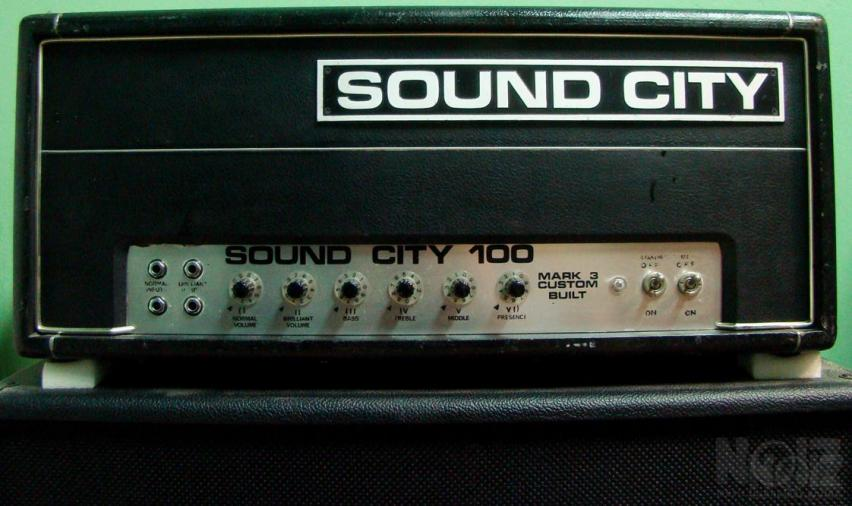 Soundcity L100, 1967/68 (Hiwatt/Reeves περιοδου) NOS λαμπες, all original καταστ