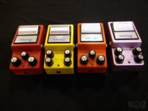 Ibanez series 9 pedals from 80's New Price!!!