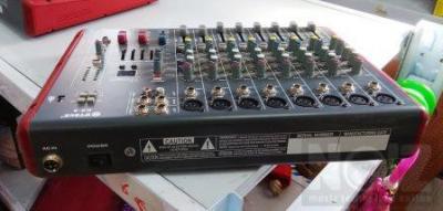 DS-8 Κονσόλα-Mίκτης FX-8CH-USB-MP3