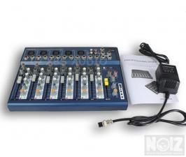 7 κανάλια Κονσόλα-Μίκτης Bluetooth-mp3