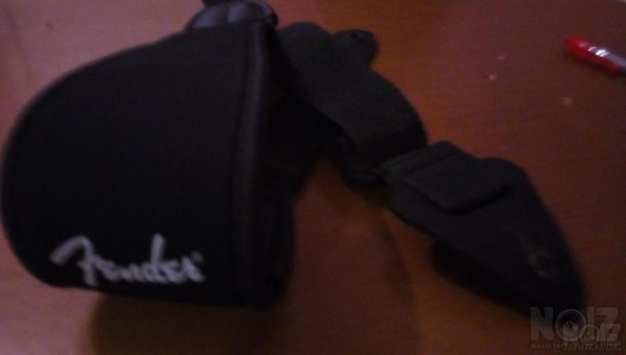 Fender neoprene strap+ανταλλαγη