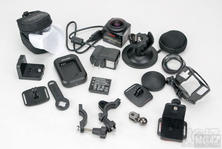 Action Camera Kodak PixPro 4K Extreme Kit WiFi SP360