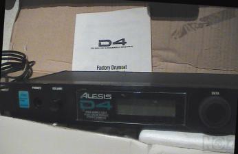 Πωλείται Alesis D4 16 bit (Trigger for Drums) (Είναι Ευκαιρία)..!!!