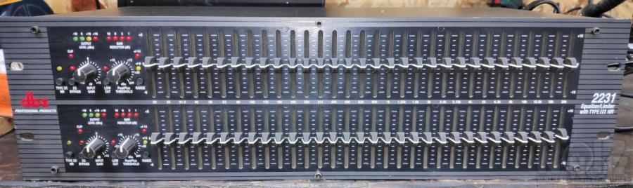 EQ DBX 2231 - Equalizer 2 x 31 περιοχών