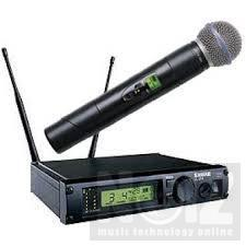 Ασύρματο μικρόφωνο SHURE ULX4/Beta58