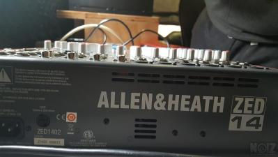 Αναλογικη Κονσολα Allen & Heath ZED 14