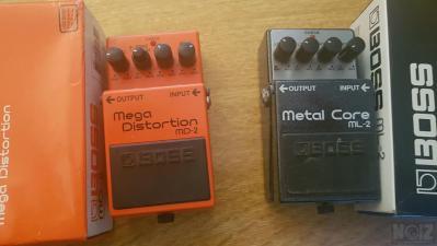 Boss Mega Distortion & Metalcore