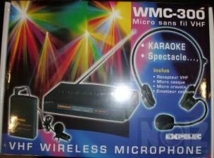 Ασύρματο Set Χειλόφωνου / Πέτου Expelec WMC-300
