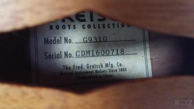 Χειροποίητο Μαντολίνο Gretsch G9310 NY Supreme + Rockbag θήκη