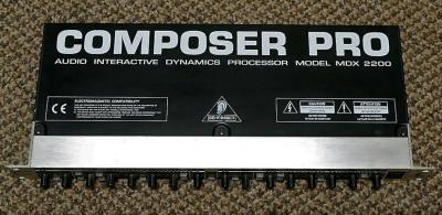 Behringer Compressor Limiter Gate