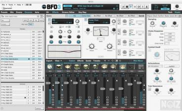 BFD 3 Evolved acoustic drum software