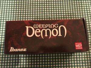 IBANEZ WD7 JR Weeping Demon πετάλι wah