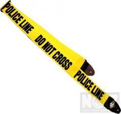 Police Line Do Not Cross Guitar Strap