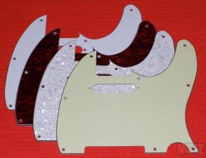 Telecaster 3ply Pickguards
