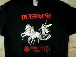 BLASPHEMY Gods Of War XL T-Shirt LP