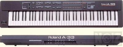 Roland A 33 και JV 1Ο1Ο