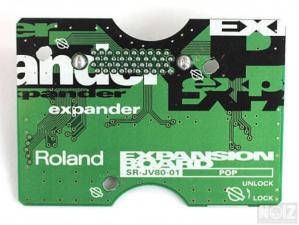 Roland SR-JV80-01 POP Expansion Card 80€