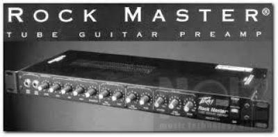 Peavy rack amp Rockmaster preamp + 120/120 power amp by AxisProjectGuitars