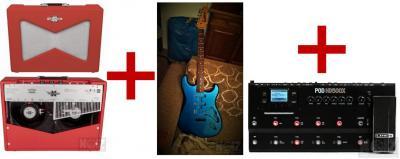 Fender Vaporizer & POD500X & Strat για Helix
