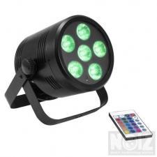LED SPOT ΦΩΤΙΣΤΙΚΟ με μπαταρία - Usb 6X4W RGBW χειρηστήριο