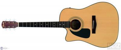 αριστερη Fender DG 10 CE ΗΛΕΚΤΡΟΑΚΟΥΣΤΙΚΗ