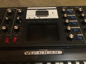 Moog Voyager Electric Blue Edition