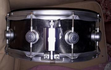 dw collector's knurled steel snare 14x6