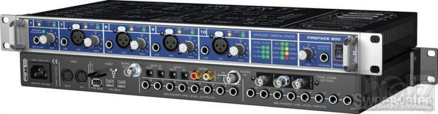Exchange RME Fireface800 with Octopre