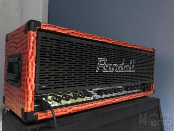 Randall RM100 head with 4 modules & 2 412 cabinets
