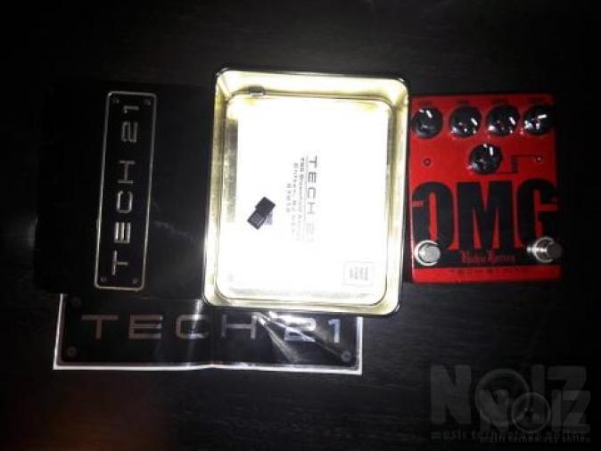 OMG Tech 21 distortion/οverdrive πωλειται