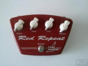 Carl Martin Red Repeat V1-Delay Echo Vintage Series