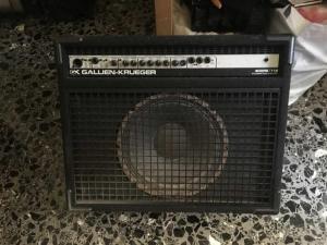 GALLIEN KRUEGER 400RB/112, electric bass combo amp