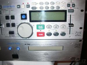 STANTON S-750 DUAL CD PLAYER
