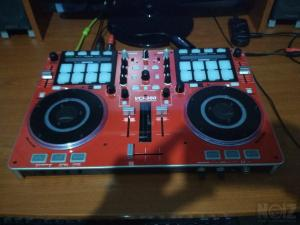 vestax vci-380 red rare & zomo mc 1000