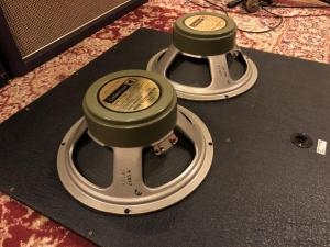 Vintage Original Celestion Greenbacks G12H30