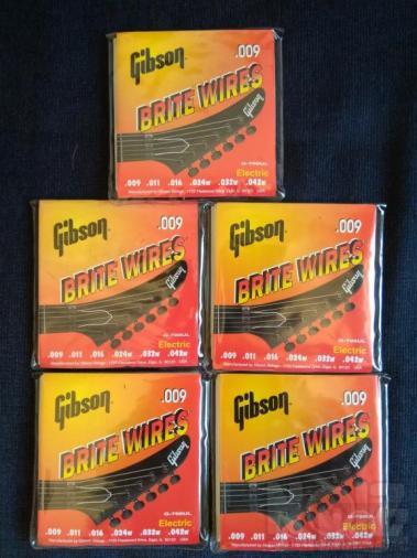 Χορδές Gibson Brite Wires .009