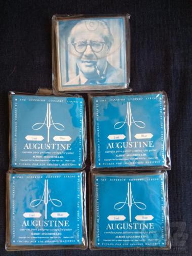 Augustine Classic Blue High Tension χορδές