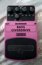 Behringer BOD100 Bass Overdrive προς πώληση